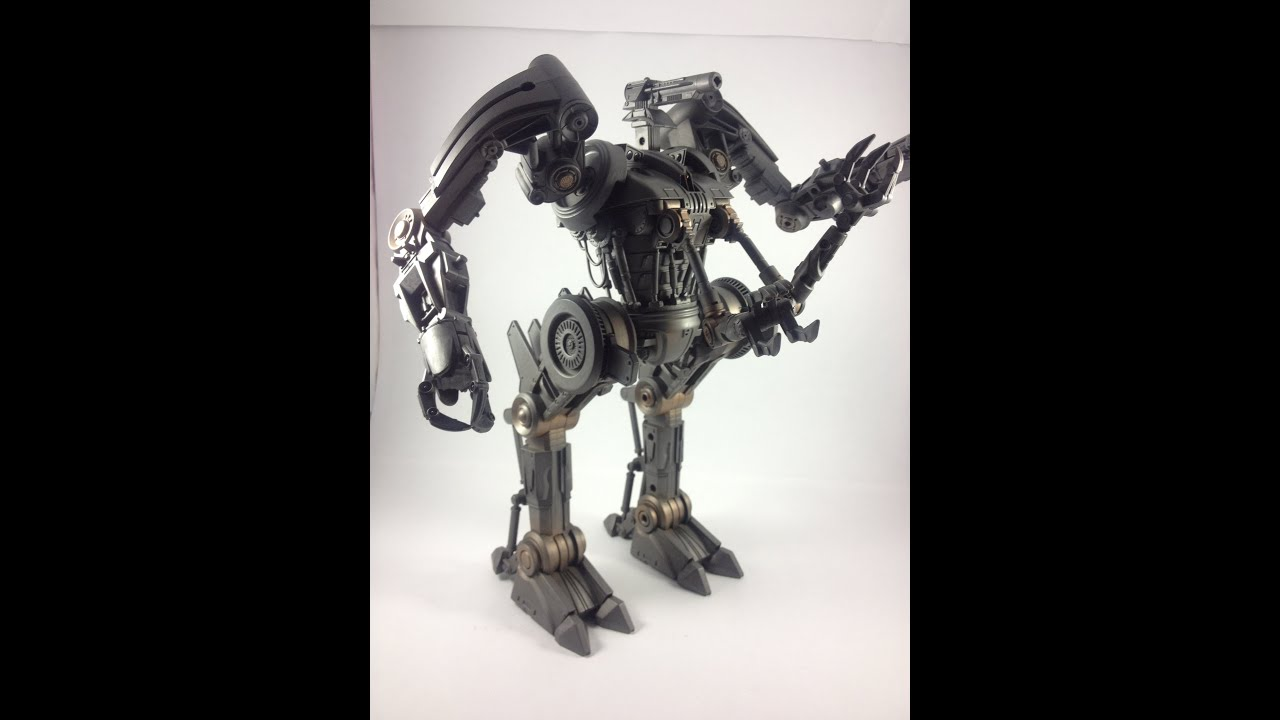 Terminator Salvation Deluxe Harvester Marca Playmates Toys ...