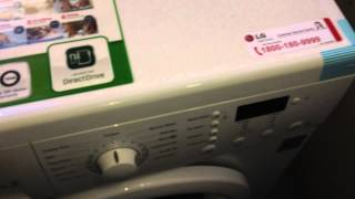 LG washing machine F10B5NDL2 review 1-6kg