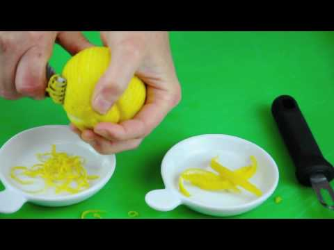 Lemon Zest & Slices