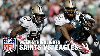Saints vs. Eagles | Week 5 Highlights | NFL