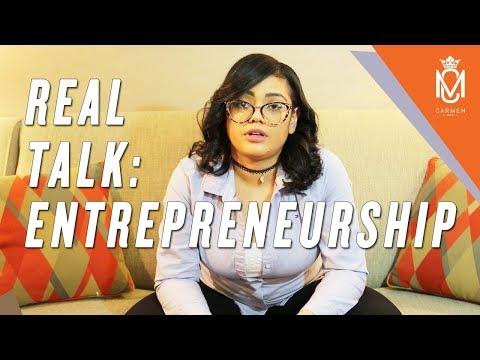 Real Talk: Entrepreneurship with Carmen Mohan