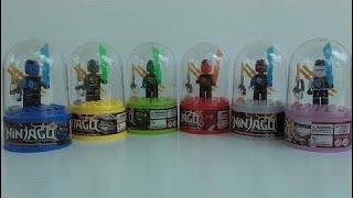 Reviewของเล่น Lego Ninjago พร้อมปลอกแคปซูล