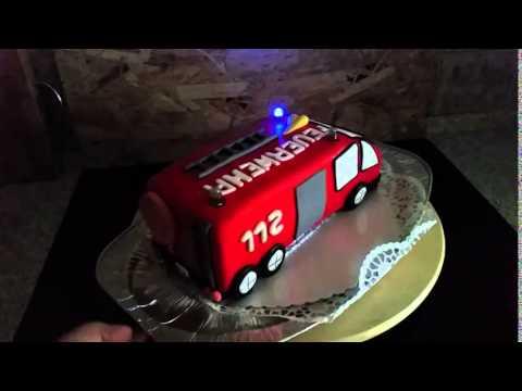 Feuerwehr Torte - YouTube