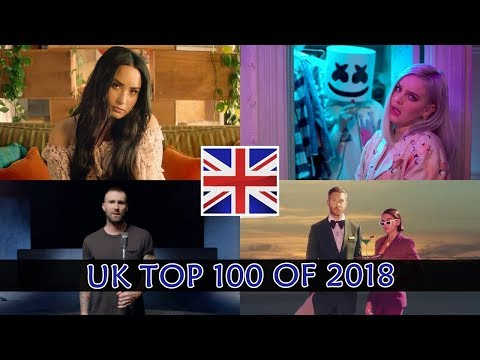UK Top 100 Songs of 2018 (Year-End Chart)