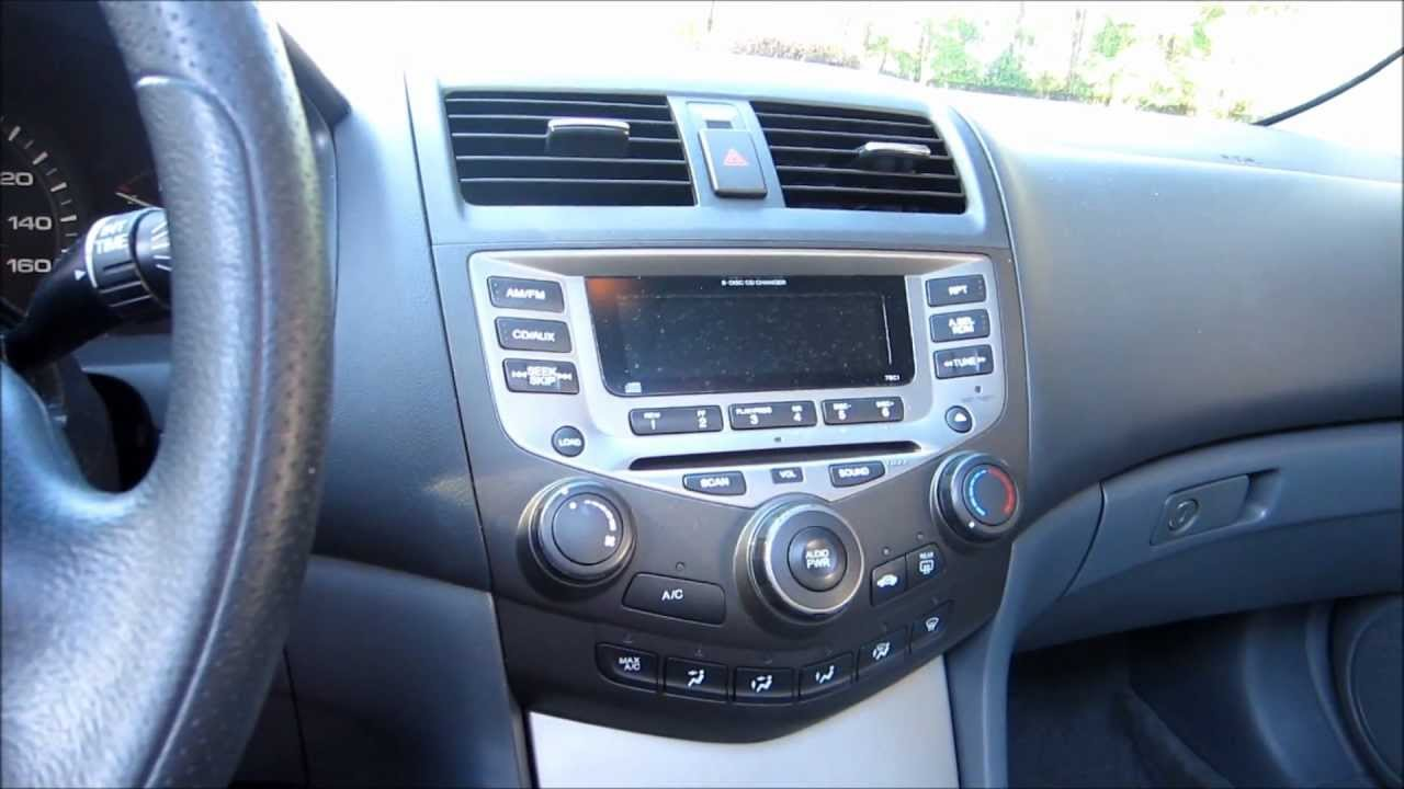 2007 honda accord ex start up quick tour interior critique youtube