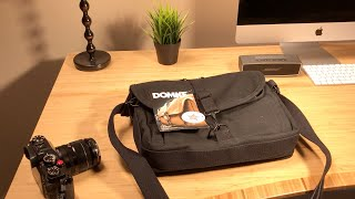 Domke F-803 Camera Bag Satchel Review - This bag could have been great.