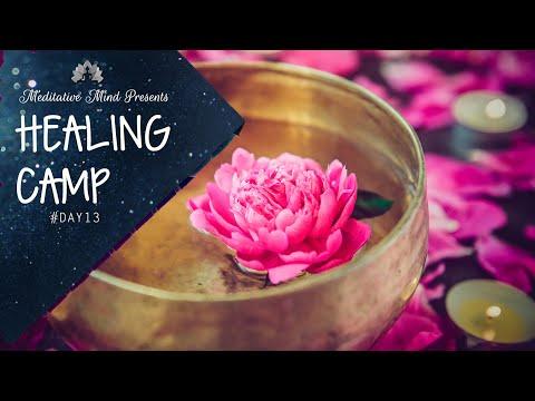 528Hz - DNA Repair & Miracle Music of Healing Tibetan Singing Bowls   Healing Camp Day 13