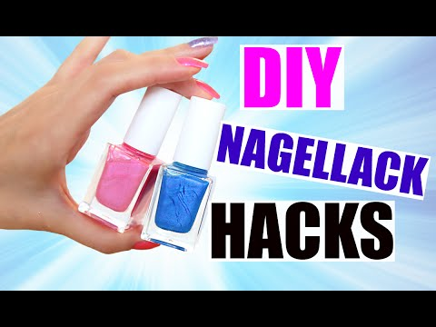 diy nagellack hacks 3 methoden matt farbig glitzer kindofrosy youtube. Black Bedroom Furniture Sets. Home Design Ideas