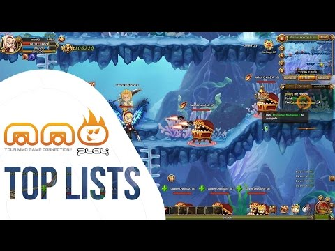 Top 5 Side Scrolling MMORPG's - HD