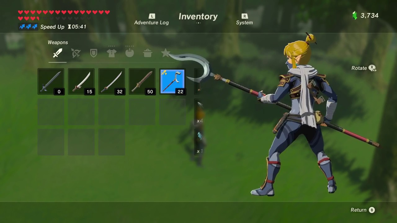 All Sheikah Weapons Complete Set Location (Breath of the Wild)