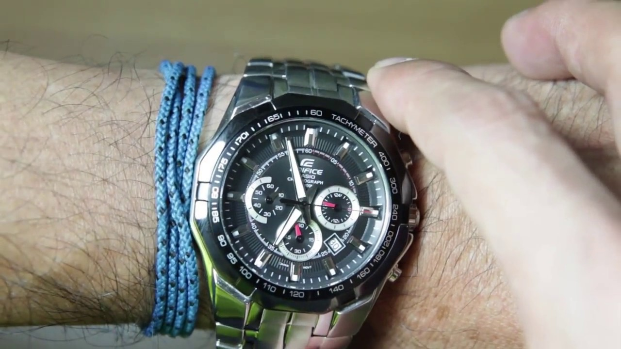 3400aebe3 Casio Edifice EF-540D-1AV Unboxing - YouTube