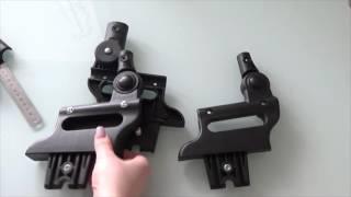 Обзор детали крепления блоков на раму / регулятор высоты капюшона