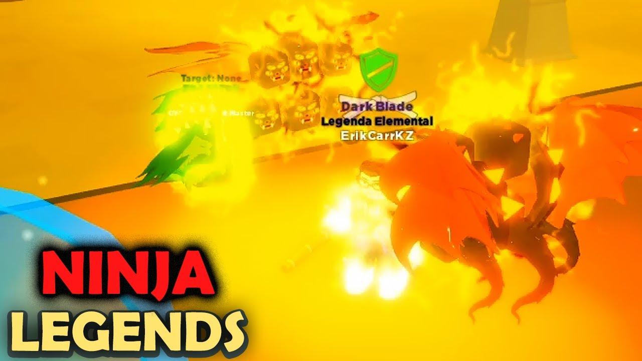 Aprendi a Fazer VÁRIOS RESETS de Verdade - Ninja Legends
