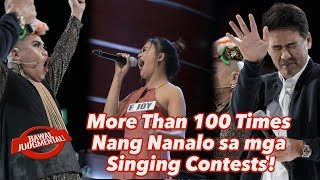 More Than 100 Times Nang Nanalo sa mga Singing Contests! | Bawal Judgmental | December 23, 2019