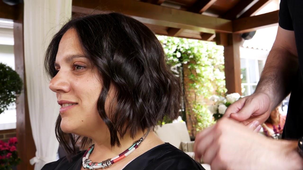 2 Peinados Con Ondas Expres Para Medias Melenas