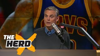 Kristine Leahy's dad hates LeBron James | THE HERD'