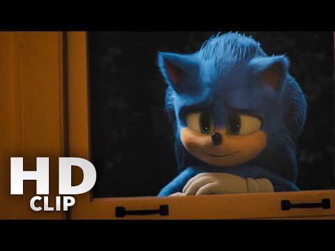 Sonic The Hedgehog | This is How Sonic Lives on Earth Scene