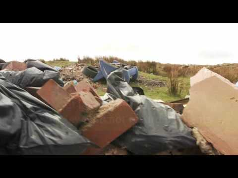 Waste crime, fly-tipping by the Environment Agency