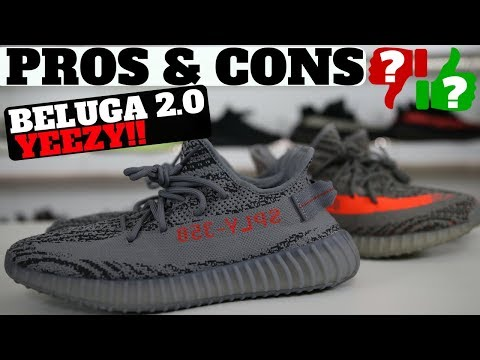 YEEZYS ARE DEAD?! Pros & Cons: BELUGA 2.0 YEEZY BOOST 350 V2 REVIEW & ON FEET!
