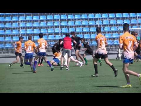 Rugby UNSS Toulon Collège Django Reinhardt vs Orange Collège Jean Giono Finales Inter-Académies 2017
