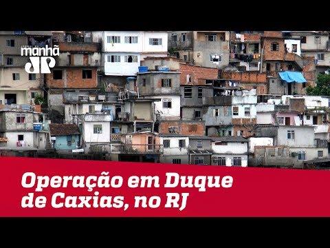 Polícia Realiza Grande Operação Em Comunidades De Duque De Caxias, No RJ