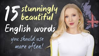 15 Stunningly Beautiful English Words YOU Should Use More Often! screenshot 4