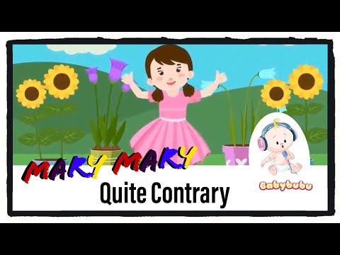mary mary quite contrary latest version - 2018 - Nursery Rhymes with Lyrics