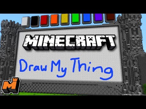 Minecraft: Draw My Thing w/ Friends #2 (Mineplex Mini Game)