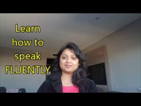 how to speak english very fluently