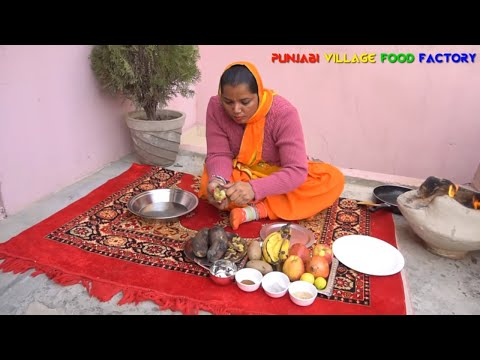 Fruit Chaat Recipe 🍎🍓 Chaat Recipe 🍎🍓 Indian Street Food 🍎🍓 Punjabi Food 🍎🍓 Fruits Chaat
