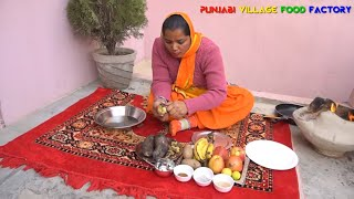 Fruit Chaat Recipe 🍎🍓 Chaat Recipe 🍎🍓 Indian Street Food 🍎🍓 Punjabi Food 🍎🍓 Fruits Chaat
