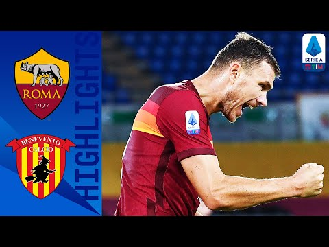 AS Roma Benevento Goals And Highlights