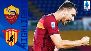 Roma 5-2 Benevento | Dzeko and Pedro Seal Big Win for Roma! | Serie A TIM