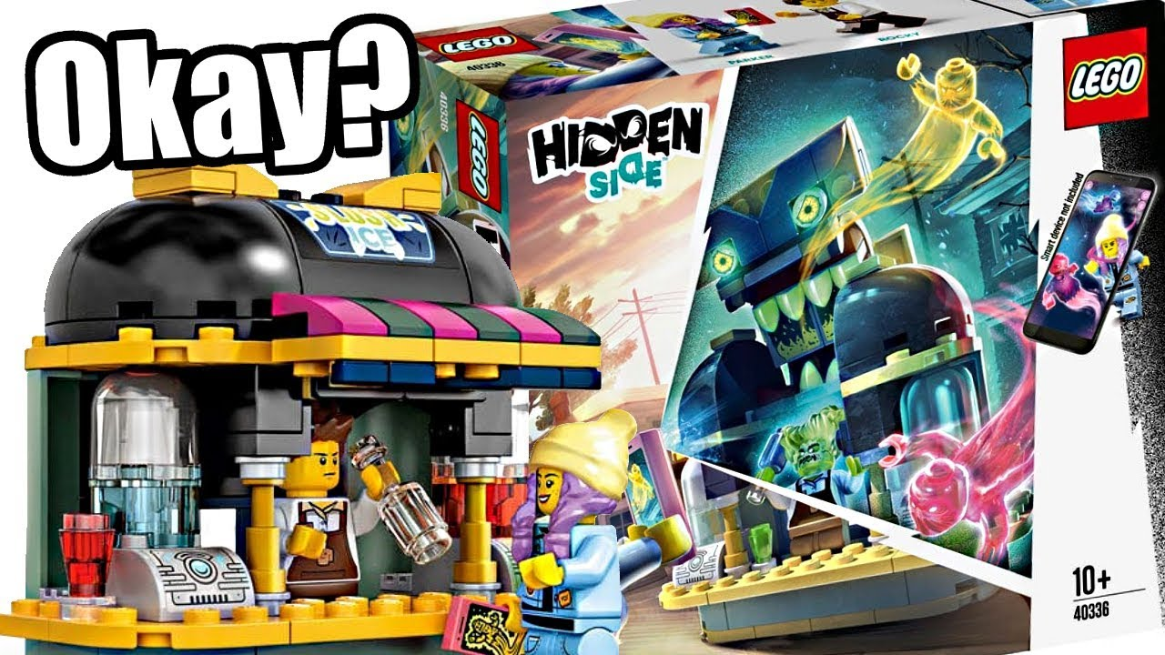 new lego hidden side surprise where's the juice  youtube