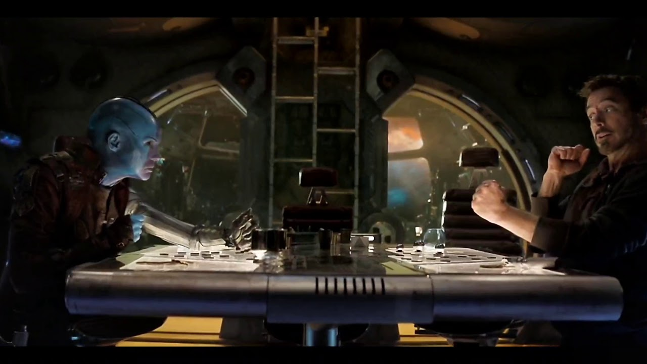 Nebula and Tony Stark scene HD – Avengers Endgame - YouTube