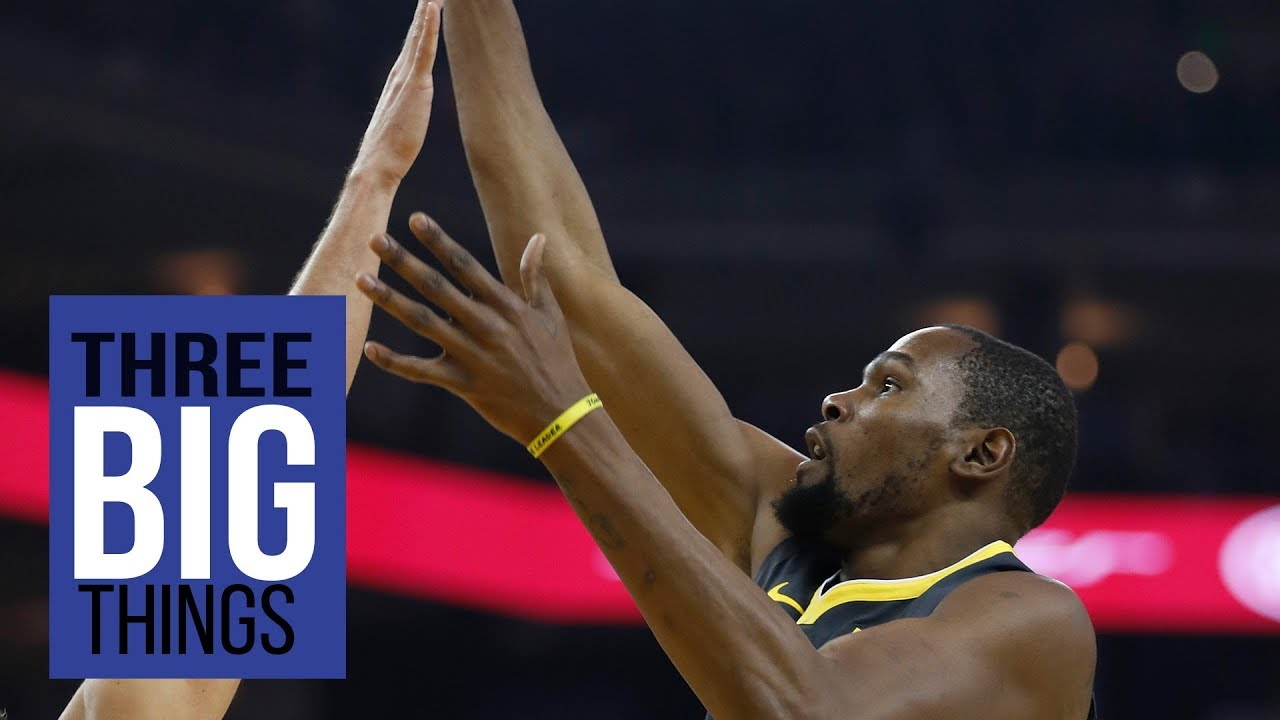 3 Big Things: Durant speaks Knicks, Iguodala shines