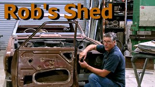 Rob's Shed - Car Restoration - Beginner's Guide to Dismantling 1960's/70's car doors