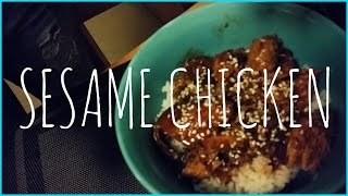 COLLEGE COOKING  Crockpot Sesame Chicken Recipe