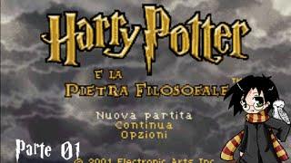 Harry Potter e la Pietra Filosofale GBA [Parte 01] ITA - Inizio e Prima Lezione