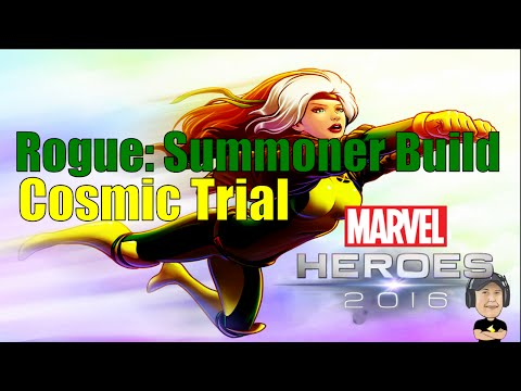 Marvel Heroes 2016: Rogue Summoner Build/Cosmic Trial