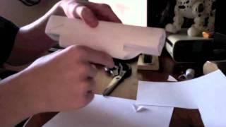 How to make a paper uzi