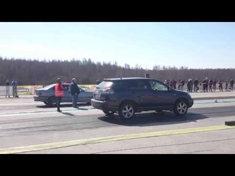Lexus Rx400h vs Bmw E36 340