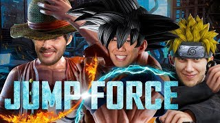 One Piece, Naruto & Dragonball in einem Beat 'em up | Jump Force mit Viet, Dennis H. & Markus