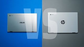 $599 Chromebook Showdown: ASUS Flip C434 vs. HP x360 14