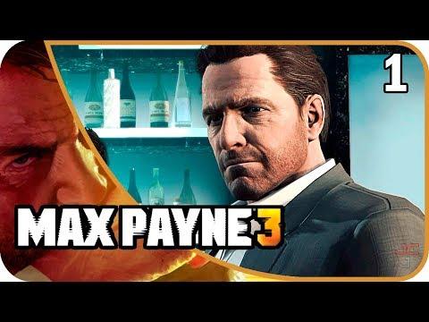MAX PAYNE 3 - EP. 1 PRIMERA HORA DE JUEGO - BORRACHO Y GORDO - Gameplay Español