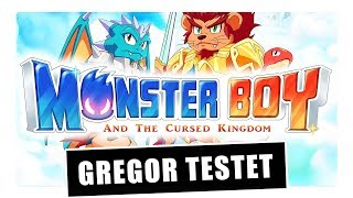 Gregor & Manu testen Monster Boy & the Cursed Kingdom (Review / Test)