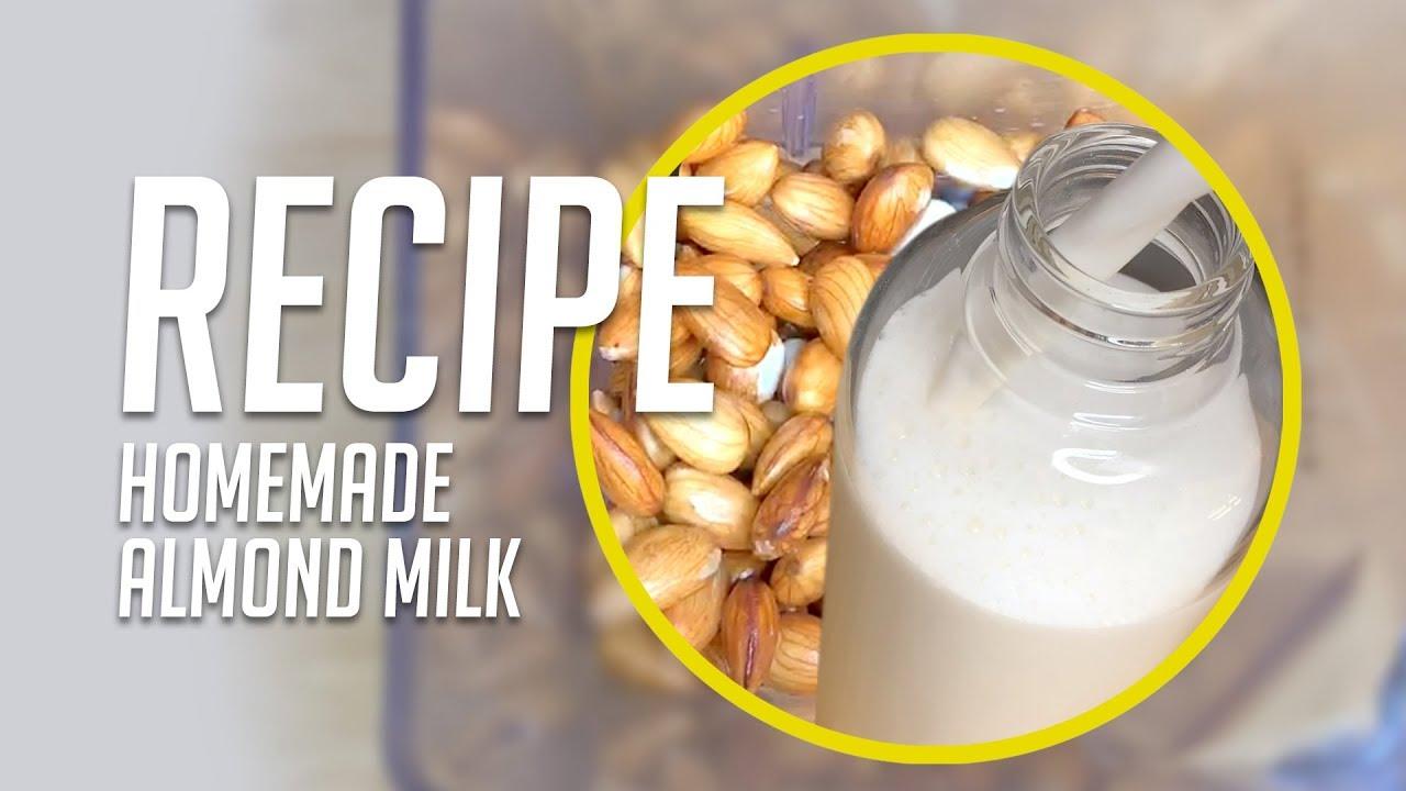 Larissa Reis RECIPE - Homemade Almond Milk