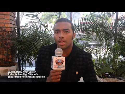 Jair Romero /// Niche: Lo Que Diga El Corazón /// Entrevista /// www.salsaconestilo.com