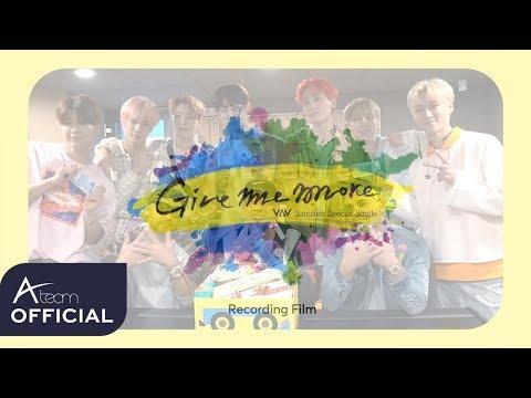 VAV - 'Give Me More' Recording Film