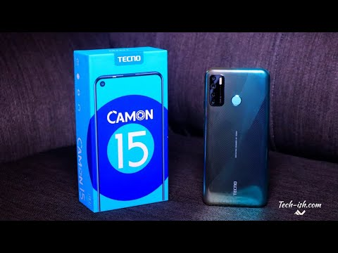 TECNO Camon 15 Unboxing and First Impressions
